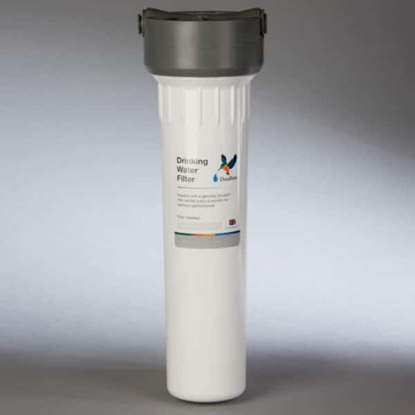 Supercarb water filter plus housing