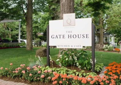 Gate House Sign
