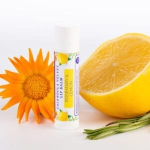 Natural Lip balm Rosemary and Lemon