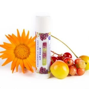 Natural Lip Balm Fruit Fizz