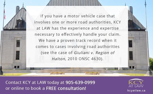 Winter Road Authority Cases Ontario - KCY at LAW