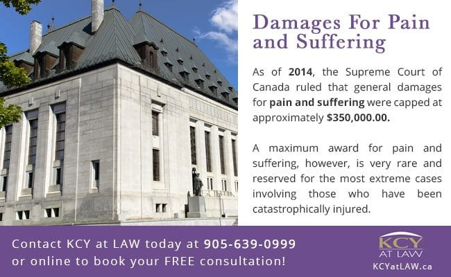 Maximum Damages for Pain and Suffering in Canada - KCY at LAW
