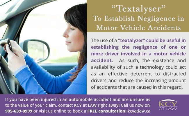How To Establish Negligence in Motor Vehicle Accidents - KCY at Law - Personal Injury Lawyer Toronto