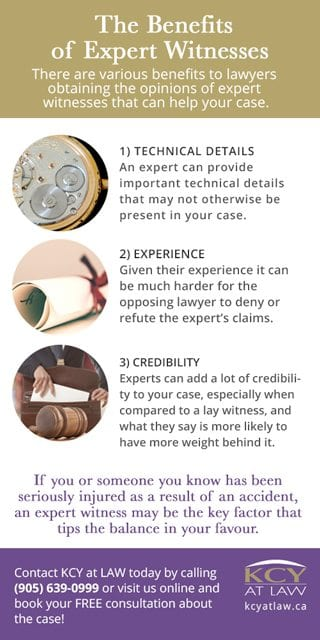 The Benefit of  Expert Evidence - Personal Injury Lawyer KCY at LAW