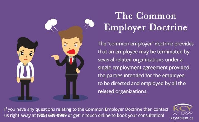 The  Common Employer Doctrince - Who's The Boss - KCY at LAW