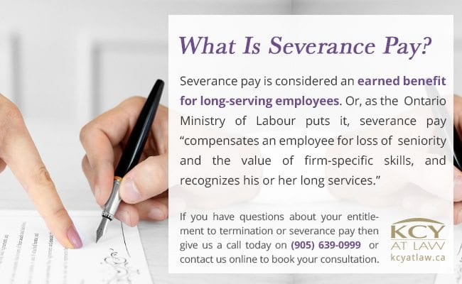 What is Severance Pay - Employment Lawyers