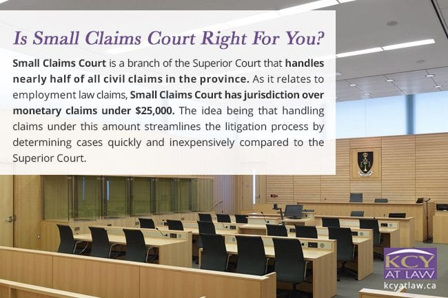 Small Claims - Is Small Claims Court The Right One