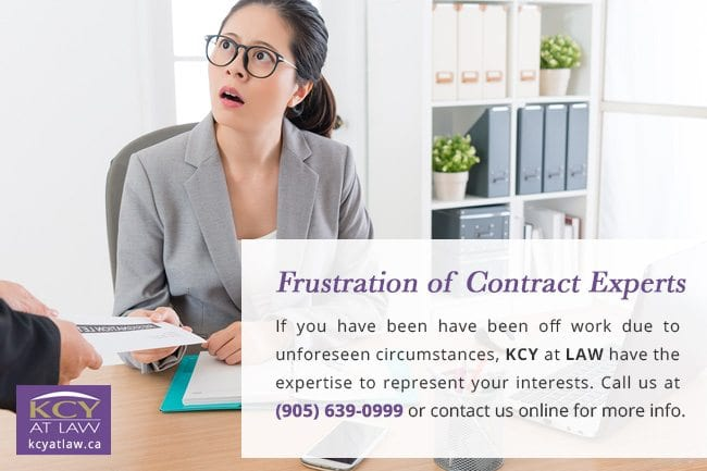 Frustration of Contract Experts - KCY at LAW