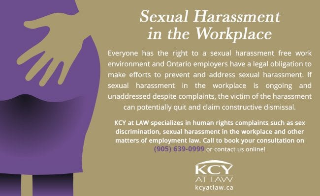 Sexual Harassment in the Workplace - Employment Law Lawyers