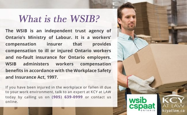 What Is the WSIB - Workplace Safey and Insurance Board - KCY at LAW