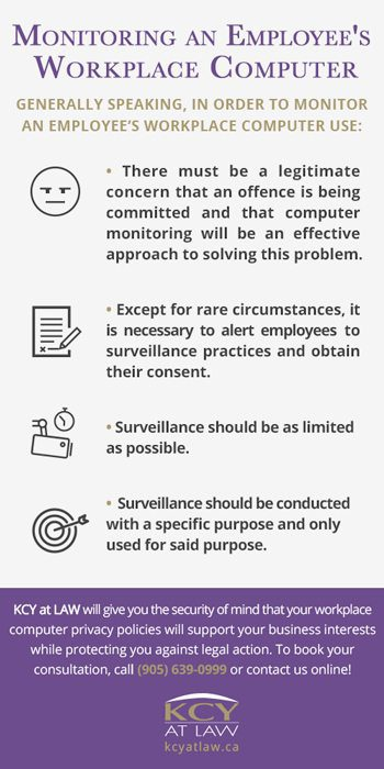 Guide to monitoring an employees computer use - KCY at LAW