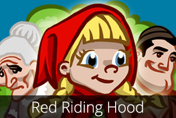 Grimm's red Riding Hood, a 3D pop-up kids' app by StoryToys.