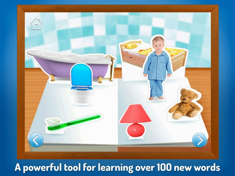 Touch, Look, Listen - My First Words. An early learning app by StoryToys to help teach young children new words. A powerful tool for learning over 100 new words.