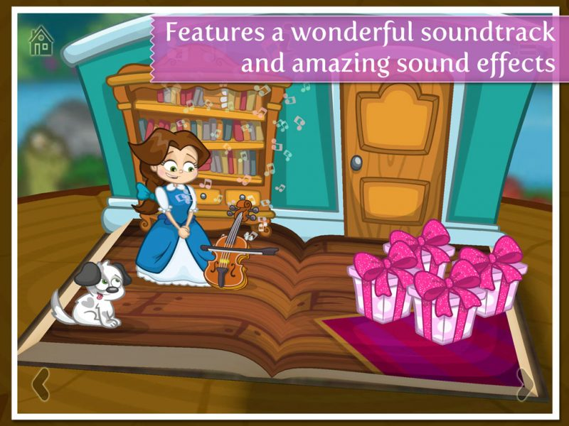 Beauty and the Beast - a 3D pop-up kids app by StoryToys. Features a wonderful soundtrack and amazing sound effects.
