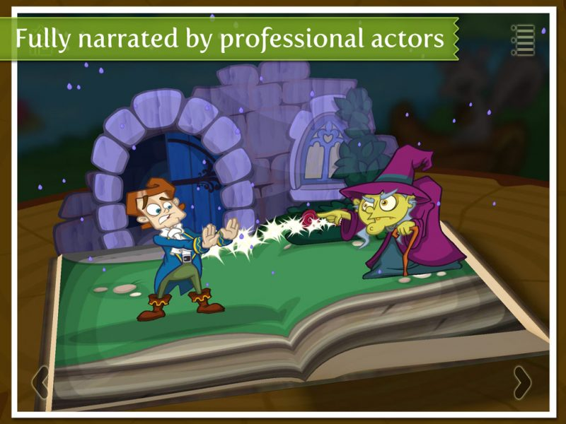 Beauty and the Beast - a 3D pop-up kids app by StoryToys.