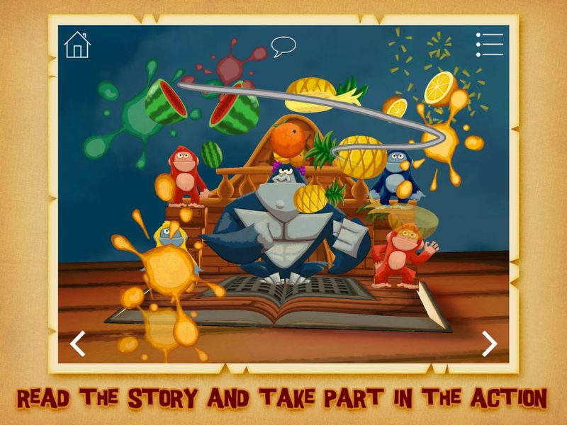 The Pirate Princess - kids' app and action-packed pirate adventure by StoryToys. Read the story and take part in the action.