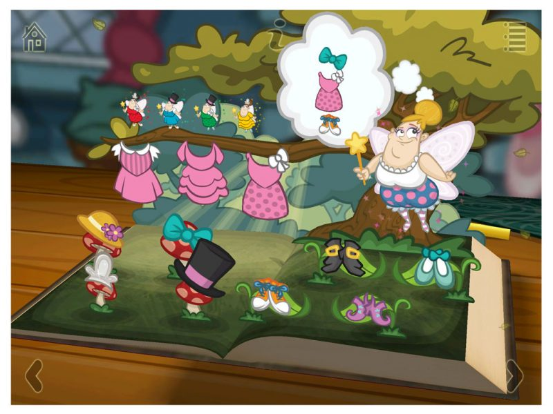 Grimm's Sleeping Beauty Kids App - StoryToys Apps. Bursting with exciting games and puzzles.