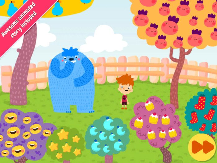 Jelly Jumble StoryToys Kids App. Includes a beautifully animated story.