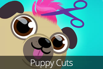 Puppy Cuts – My Dog Grooming Pet Salon app store icon