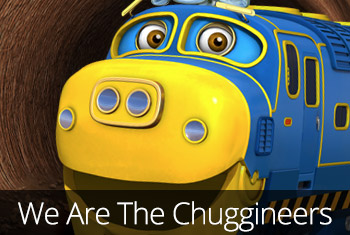 Chuggington - We are the Chuggineers app store icon.
