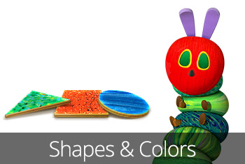 The Very Hungry Caterpillar - Shapes and Colors kids' app by StoryToys